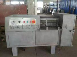 不锈钢全自动350型鲜肉微冻肉切片切丝切丁机