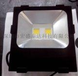 新款鳍片LED泛光灯LED投光灯LED广告灯80W