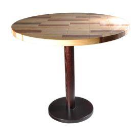 休闲咖啡厅甜品店复古实木餐桌椅组合|做旧餐桌椅众美德定制批发