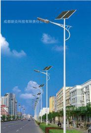 四川成都太阳能路灯厂家图片