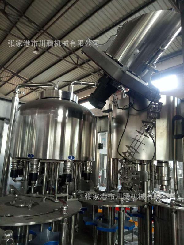 【张家港川腾机械】专业生产全自动纯净水灌装机