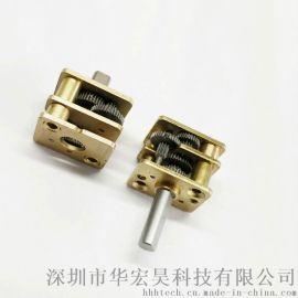 12系列 高性能微型齒輪箱定制