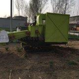 玉米秸秆粉碎青储机大型自走式秸秆收割机