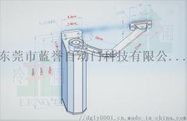 深圳冷雨侧装自动闭门器 可外接门禁小区电动开门机