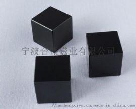 合盛磁业35SH镀黑镍烧结钕铁硼磁钢