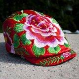 繡花鴨舌帽子 - 2