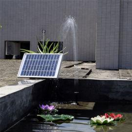 12V微形太阳能喷泉鱼缸潜水泵太阳能水泵