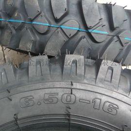 加密人字6.50-16山地农用三轮车轮胎