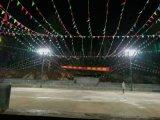 籃球場LED投光燈 籃球場燈光照明 LED球場燈具