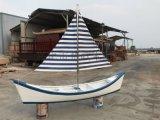 出售南京公园景区装饰船户外帆船景观船木船