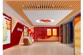 中国红幕墙铝方管  碳红色铝方管 热转印铝管