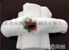 高阳厂家直销  纯棉白毛巾大量供应酒店宾馆