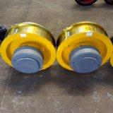 φ400*120小车运行从动轮 单轮缘锻打车轮组