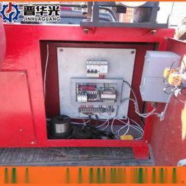 烟台市可调速金属波纹管制管机钢管镀锌管成型设备扁管机