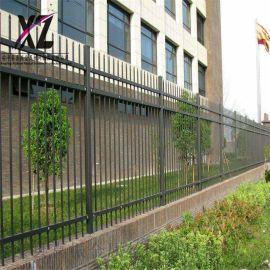 城区锌钢隔离栏,  围墙防护栏,坚固围墙护栏生产