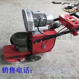 旧地面翻新研磨机 金刚石磨头地面打磨机