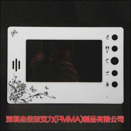 电镀亚克力片 PMMA视窗镜片 深圳厂家定制批发 丝印加工