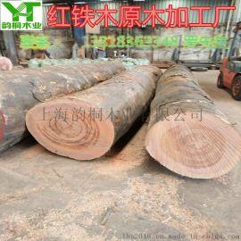 紅鐵木原木多少錢一立方