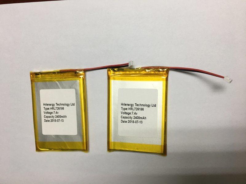 726168-2400mah聚合物锂电池工厂