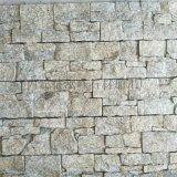 新款别墅外墙片石 黄色文化石外墙 乱拼文化石