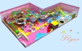 新型糖果主题淘气堡室内儿童乐园广州飞翔家厂家直销