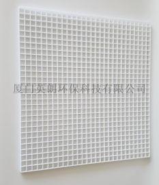 ABS白色塑料网格板PC,PVC环保格栅PP