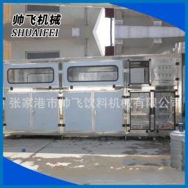 帅飞QGF桶装水灌装机  5加仑灌装生产线