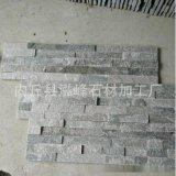 楼房外墙石材厂家批量生产浅灰色蘑菇石图片效果图