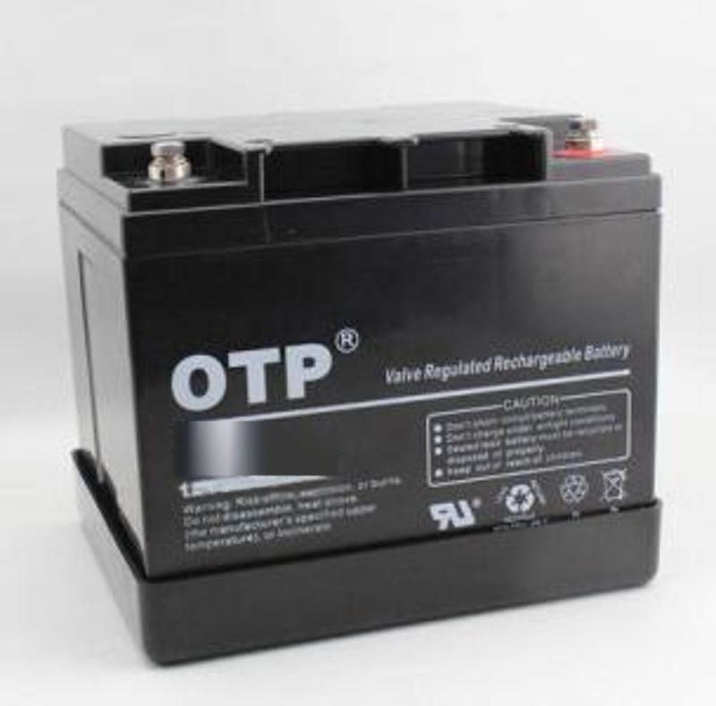 OTP免维护蓄电池6FM-38 12V38AH 太阳能直流屏UPS/EPS电源电池