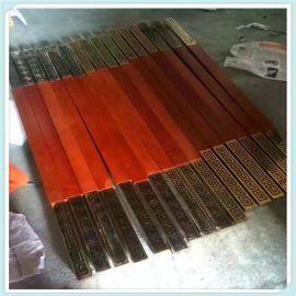 不锈钢玻璃门拉手加厚木门中木纹刀型拉手推拉门把手