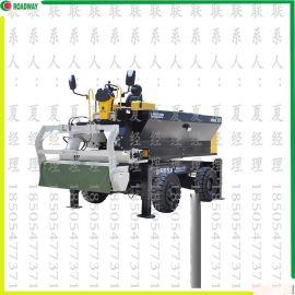 撒料机,路得威RWSL11涡轮增压柴油发动机高精度加工布料辊撒料均匀金刚砂撒料机,金刚砂,金钢砂,金钢砂撒料机,