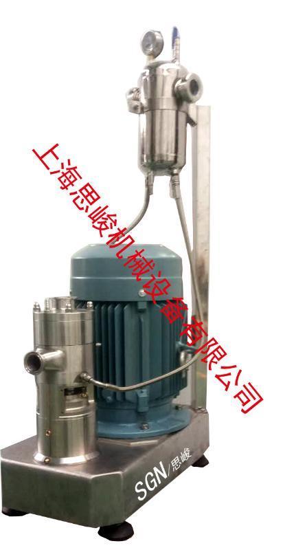 廠家直銷 SGN/思峻 GMSD2000核桃乳飲料研磨均質機 歡迎諮詢