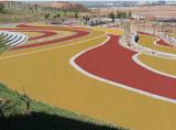 彩色透水混凝土地坪生態地坪露骨料地坪防滑地坪海綿城市