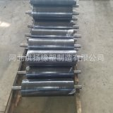 工业机械包胶辊  耐磨橡胶包胶轴托辊 耐油包胶辊
