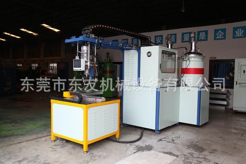 廠家供應 東莞濾清器發泡機 優質小型聚氨酯發泡機
