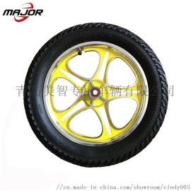 16x3 铝轮辐 充气橡胶儿童自行车轮