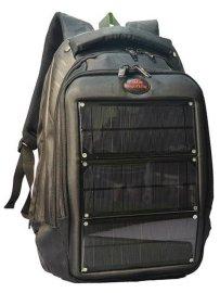 8W 太阳能充电背包 户外手机 平板电脑 笔记本移动电源充电包
