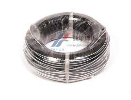 2*0.5平方 VDE并排线 硅橡胶线 扁电线 黑色双屏线 电源线