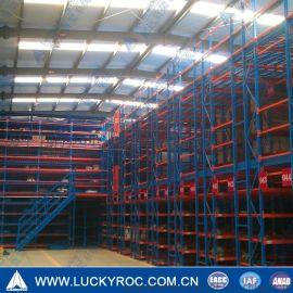 厦门货架,福建货架,阁楼式货架,重型仓储货架