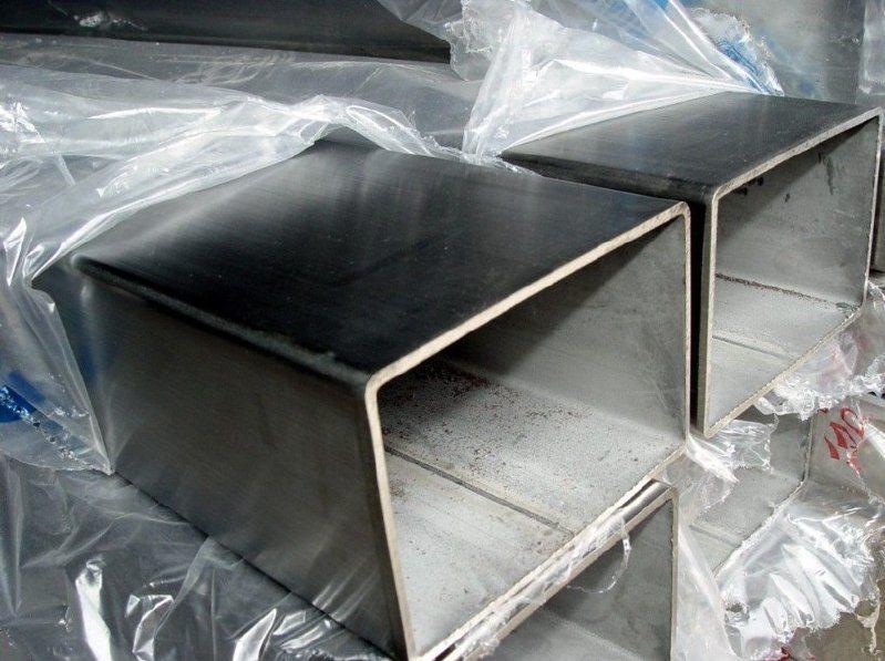 現貨316L不鏽鋼方管 0Cr17Ni14Mo2不鏽鋼拉絲管(80*80*3.0)