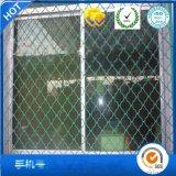 小區門窗防護網高速公路鐵路橋樑防護網白色美格網凱卓絲網現貨供應