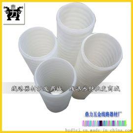直径90双壁波纹穿线管 优质HDPE双壁波纹管供应