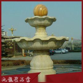石雕风水球 园林景区门口风水球 公司工厂风水球喷泉