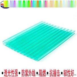 甘肃PC阳光板厂家生产4-20mm中空阳光板