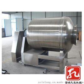 厂家直供大型不锈钢肉料腌制机 真空滚揉机