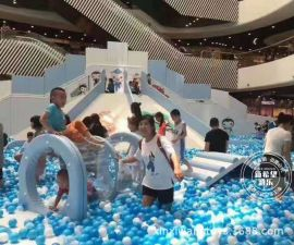 萬達海底小縱隊百萬海洋球積木樂園室內兒童遊樂設備 EPP積木城堡