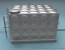 304材质方形不锈钢生活水箱