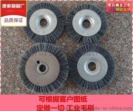 潜山毛刷轮 定做抛光清洗除锈毛刷轮 钢丝轮 磨料丝刷轮 羊毛 剑麻 尼龙丝毛刷轮