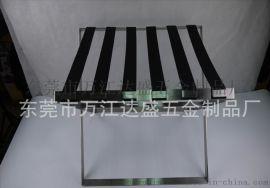 厂家**直销可折叠酒店金属行李架 不锈钢精拉丝置物架