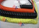 升降机停车设备用电缆 3*2.5高伸缩电缆弹簧线